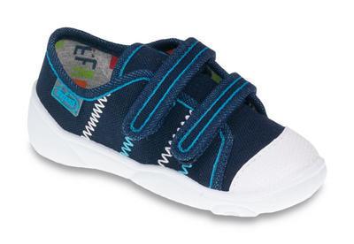 907P090 24 - chl.tenisky-2 SZ,modré