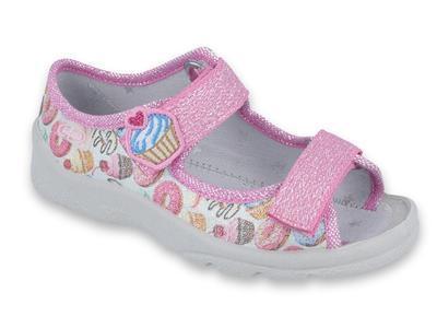969X142 25 - dívčí sandálek s patou, donut